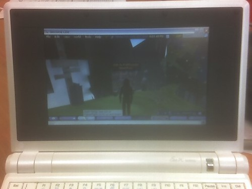 Second Life on EEE PC