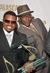bobby brown and the fat dude from new edition