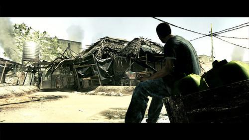 Resident Evil 5 pueblo