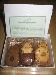 Honolulu Cookie Company: Hawaii shortbread cookies (uncovered)