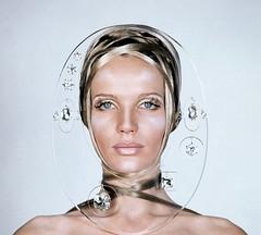 1960's fashion (herecomesthesky) Tags: beauty fashion vintage magazine mod vogue 1960s makup veruschka