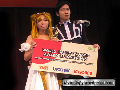 Singapore's representative for World Cosplay Summit