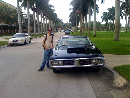 USA's Burn Notice filming on campus - thoughts of a shattered mind