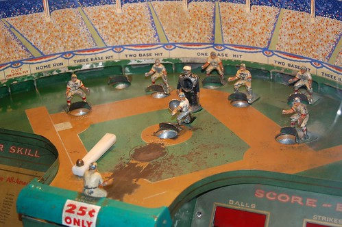 Old Time Arcade Baseball Game