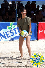 Melissa Ricks at NESTEA Beach 2008 Celebrity Games