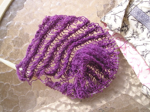 Purple Pie Shawl