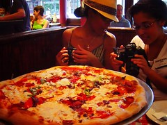 Shooting Lunch @ Lombardi's, America's First Pizzeria. by marrngtn (Manuel), on Flickr