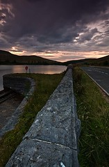 The Road is Long (Sean Bolton (no longer active)) Tags: sunset water wales cymru reservoir brecon cantref seanbolton ffotocymrucouk