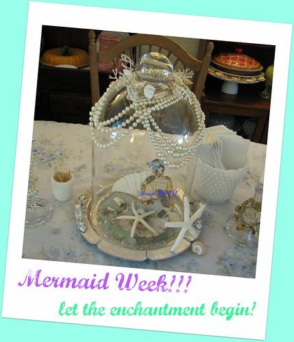 Mermaid in Bell Jar