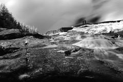 Glenmacnass Waterfall in Wicklow [1] (Dave Road Records) Tags: ireland blackandwhite waterfall infrared countywicklow sallygap glenmacnass glenmacnasswaterfall