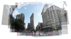 Flatiron Building Panography (ghosty) Tags: nyc building flatiron panography panograph panografie panographie