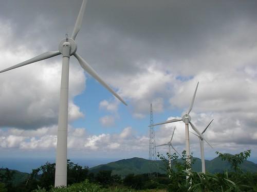 Mt. Taikoyama wind power station 太鼓山風力発電所