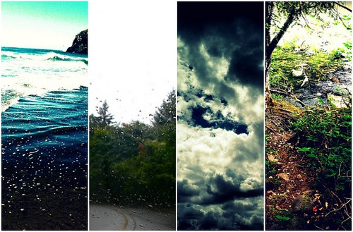 Oregon in a diptych.