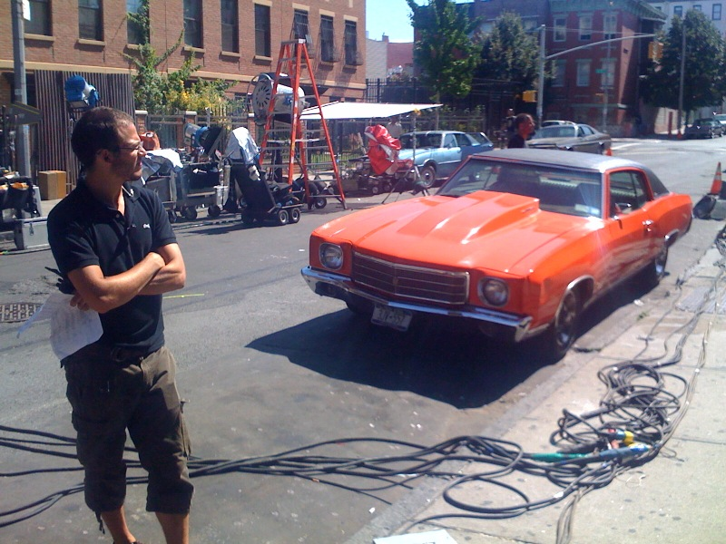 Retro Film Shoot at Keap Street