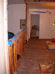 Bar wall & more wiring