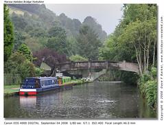 Marina Hebden Bridge Yorkshire (Dave F Barker) Tags: bridge marina yorkshire hebden