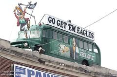 Eagles Roof Bus (PHLAIRLINE.COM) Tags: plane aviation flight airline planes trenton bizjet ttn trentonmercerairport