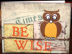 Card - Be Wise