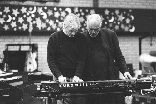 richard wright and david gilmour