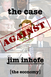 Logo of The Case Against Jim Inhofe