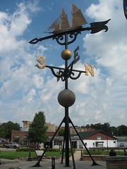 Allegedly largest weathervane (Kaarin T) Tags: weathervane montague