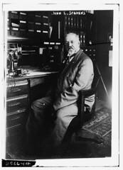 John L. Stevens  (LOC) (The Library of Congress) Tags: blackandwhite man john telephone stevens judge libraryofcongress loomis johnstevens xmlns:dc=httppurlorgdcelements11 dc:identifier=httphdllocgovlocpnpggbain11976