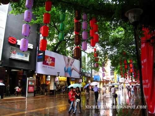rainy guangzhou