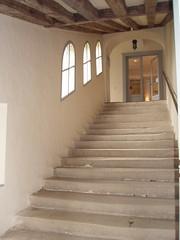 Chteau de Sach (37) (Marie-Hlne Cingal) Tags: windows stairs ventanas staircase scala chteau escaleras balzac fentres treppen escaliers finestre touraine indreetloire sach