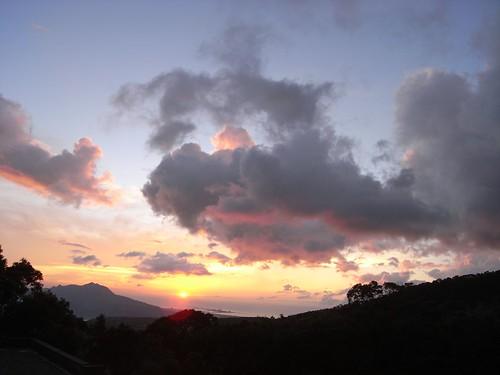 你拍攝的 78夕陽。