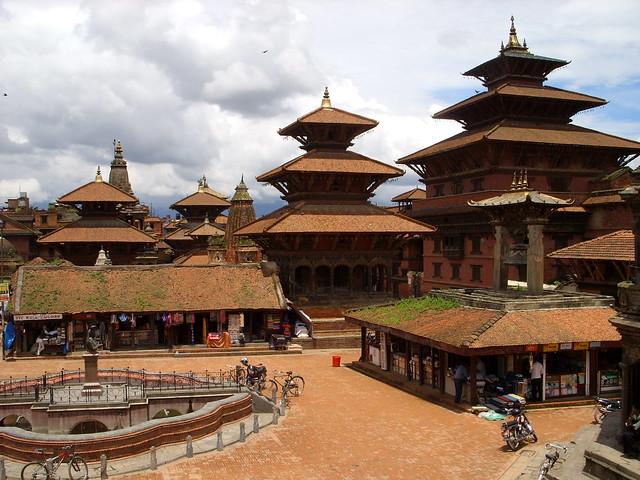 3081412133 4974170c33 z Patan Durbar Square in Nepal