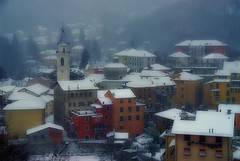 Torriglia under the snow (cienne45) Tags: winter friends italy snow liguria cienne45 carlonatale snowfall natale torriglia mywinners