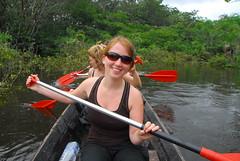 Paddling in Cuyabeno Reserve