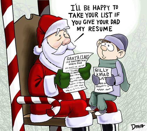 santa claus cartoon