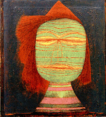 Klee, Paul - 1924 Actor's Mask (RasMarley) Tags: 1920s portrait abstract swiss contemporaryart masks 20thcentury klee 1924 paulklee cybermuseum