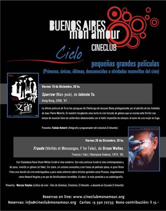 CineClub Buenos Aires MonAmour