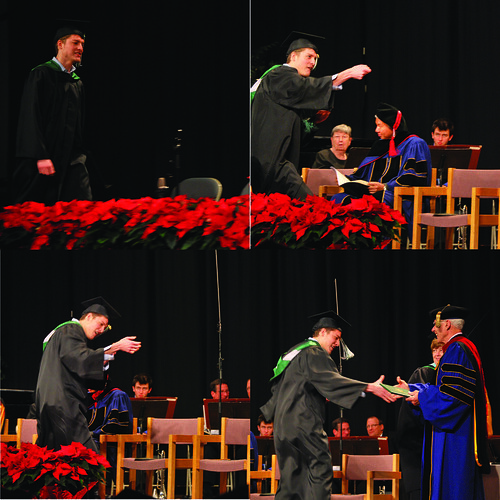 randy grad collage