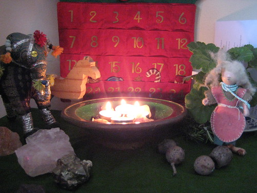 Advent Table