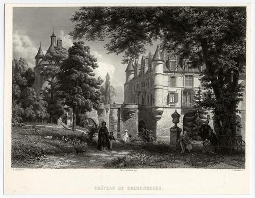 018- Castillo de Chenonceaux 1856