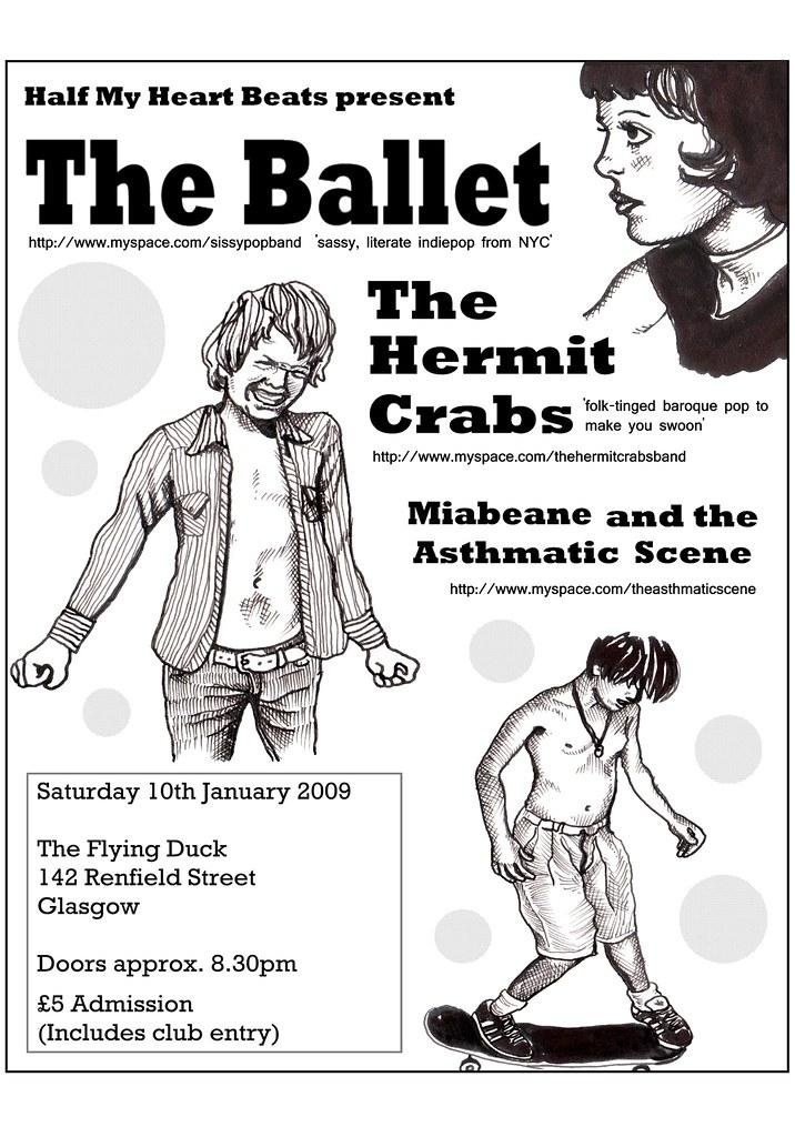 The Ballet flyer
