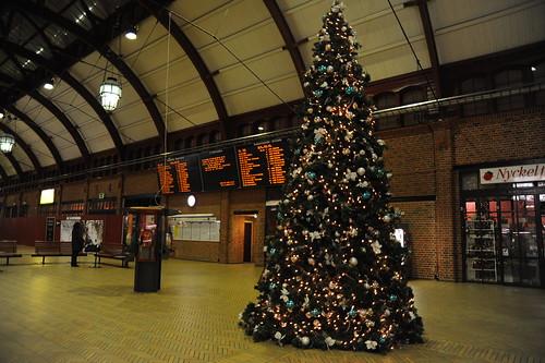 Christmas Tree @Malmö C Station