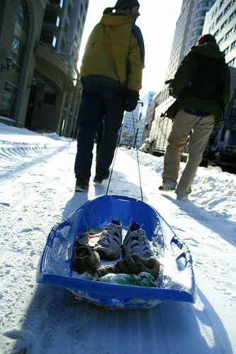 The Shoe Sledge