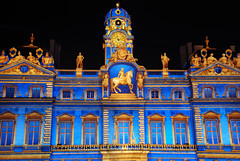 (SLpixeLS) Tags: light france colors nightshot lyon couleurs 2008 nuit damncool ftedeslumires placedesterreaux aplusphoto