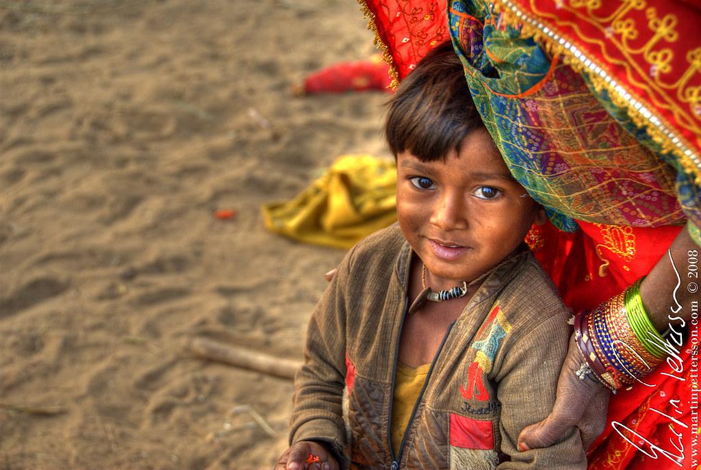 Nomad boy at Pushkar Camel Fare