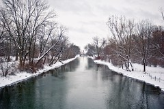 Yahara Channel in Winter
