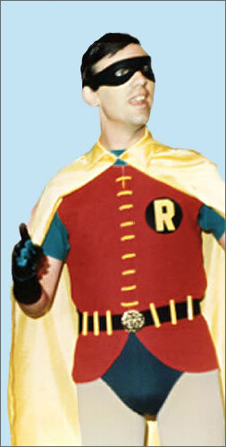 Me as Robin