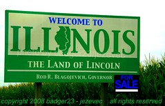 Funny Sign - Rod Blagojevich Illinois Governor For Sale Sign. Bye Bye Blago. (Badger 23) Tags: chicago sign illinois funny seat president politics governor lustig rod sein scandal obama engraado fbi accused funnysign controversy senate signe bribe divertente zeichen impeachment drle barackobama chicagotribune grappig segno signo znak  politicalstatement blagojevich   teken ussenate enklas  blago tegn landoflincoln    merkki rodblagojevich mrk      tonyrezko