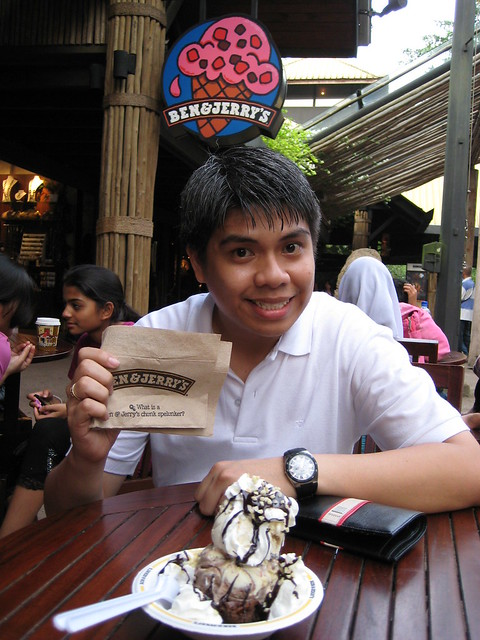 ben and jerrys, singapore