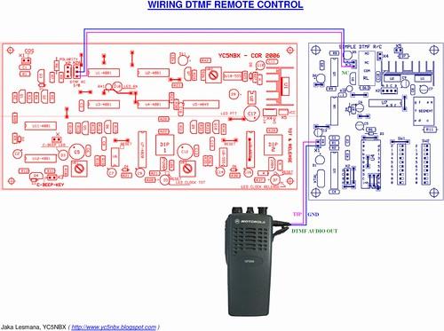 DTMF Wiring