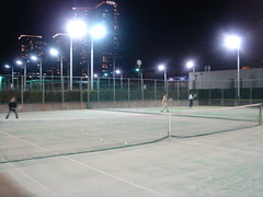 打ち納め last tennis of this year