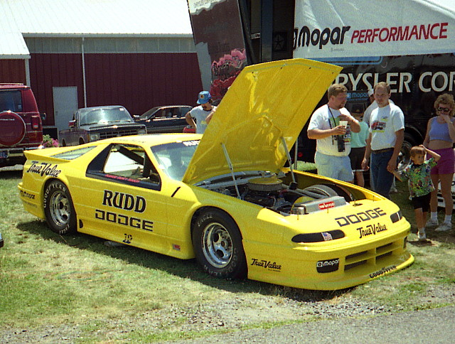 racecar 1993 dodge mopar daytona carlisle carshow iroc stockcar rickyrudd internationalraceofchampions chryslersatcarlisle carlisleallchryslernationals